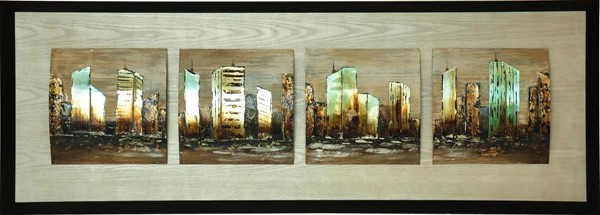 Crestview Collection City Divide Wall Art CRST-CVTOP1968