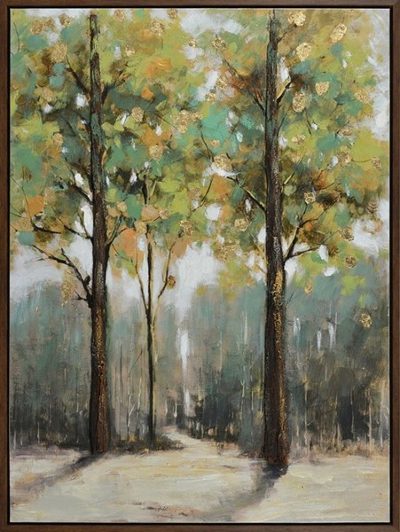 Crestview Collection Seasons Oil Painting Wall Art CRST-CVTOP2252
