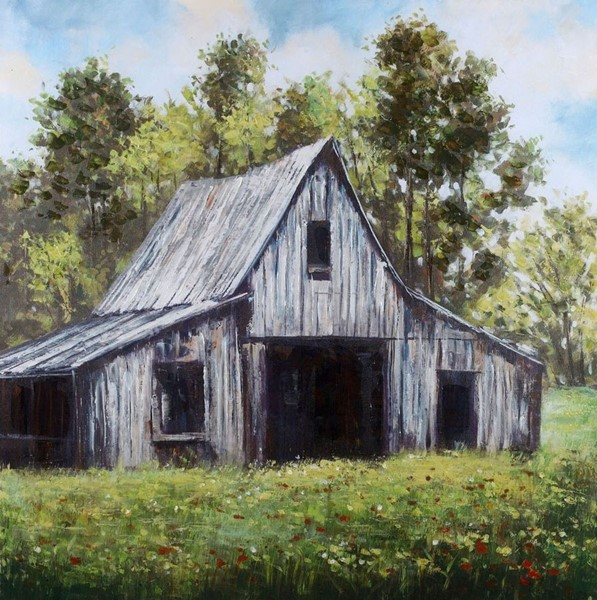 Crestview Collection Country Scene 1 Wall Art CRST-CVTOP2260