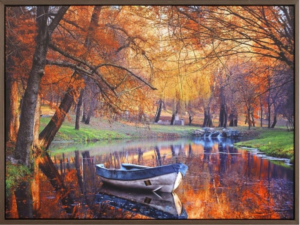 Crestview Collection River Side Canvas Wall Art CRST-CVTOP2394