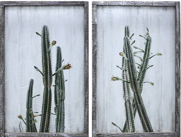 Crestview Collection Prickly 2pc Wall Art CRST-CVTOP2603