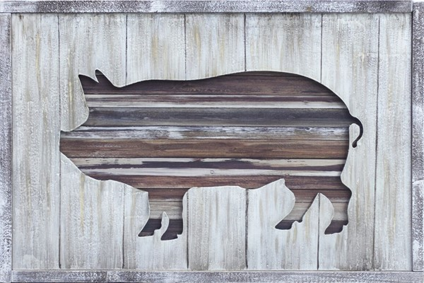 Crestview Collection Farm Carving 1 Wall Art CRST-CVTOP2610