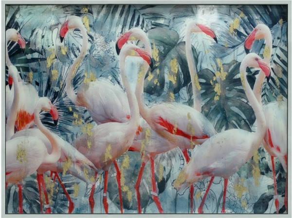 Crestview Collection Flamingo Party Wall Art CRST-CVTOP2639