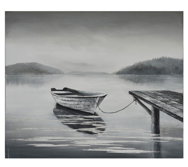Crestview Collection Tied Up Boat Wall Art CRST-CVTOP2672