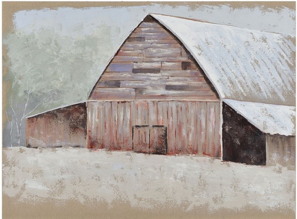 Crestview Collection Seasonal Barn 1 Wall Art CRST-CVTOP2679