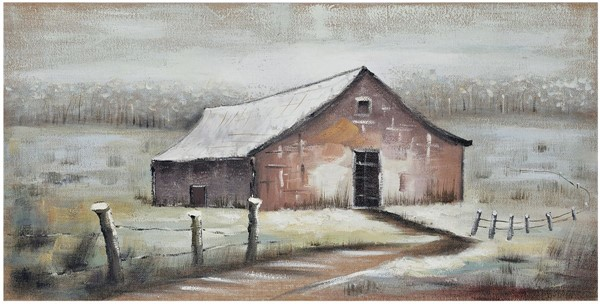 Crestview Collection Seasonal Barn 3 Wall Art CRST-CVTOP2681