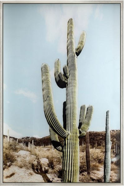 Crestview Collection Silver Prickly 2 Wall Art CRST-CVTOP2703