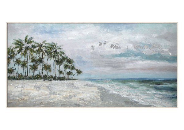 Crestview Collection White Waterfront Views Wall Art CRST-CVTOP2711