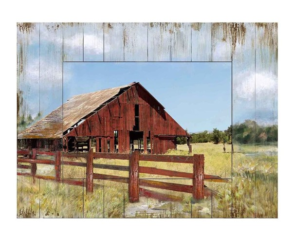 Crestview Collection Farm Yard Wood Wall Art CRST-CVTOP2714