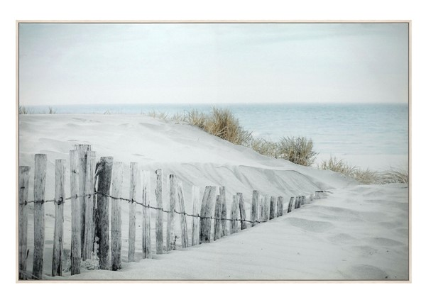 Crestview Collection White Seafront Wall Art CRST-CVTOP2715