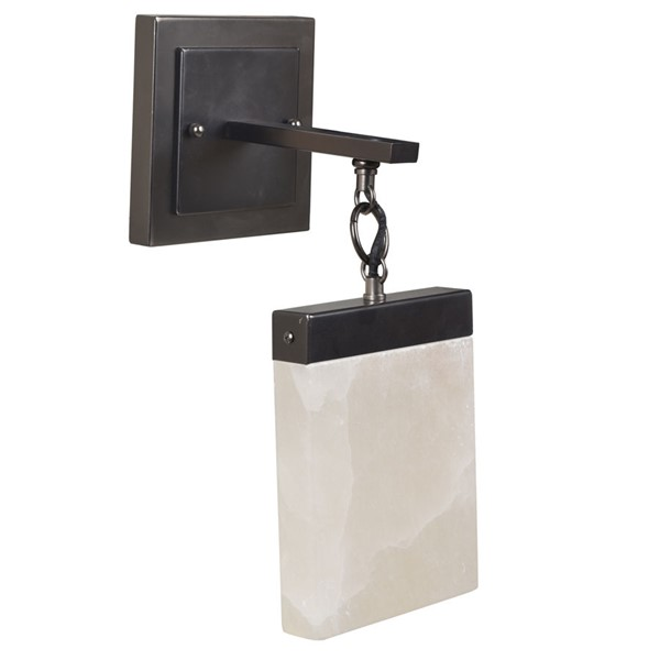 Crestview Collection Aimes Bronze Wall Sconce with LED Light CRST-CVW1ZP003