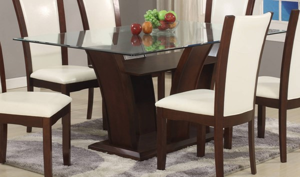 Crown Mark Camelia Espresso Rectangle Dining Table CRW-1210T-4272-TABLE