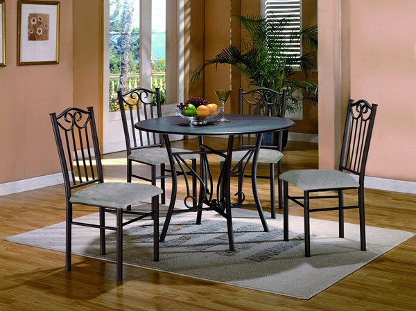 Crown Mark Hayes 5pc Dining Room Set CRW-1223SET-N