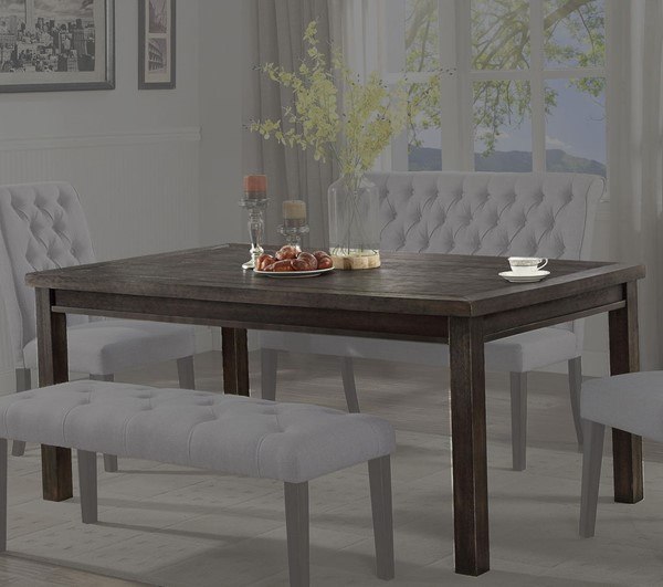 Crown Mark Palmer Brown Dining Table CRW-2022T-4072