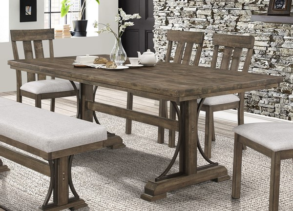 Crown Mark Quincy Rectangle Dining Table CRW-2131T-4079