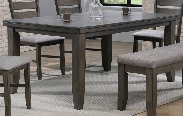 Crown Mark Bardstown Grey Dining Table CRW-2157GY-T-4266-N
