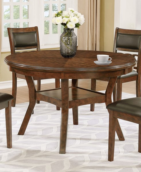 Crown Mark Cally Round Dining Table CRW-2216T-48