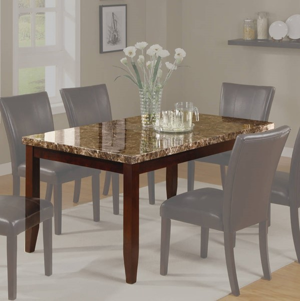 Crown Mark Ferrara Espresso Dining Table CRW-2221T-3864