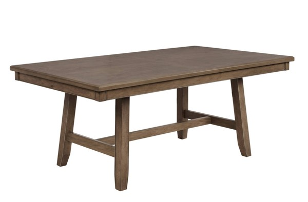 Crown Mark Manning Brown Dining Table CRW-2231T-4272