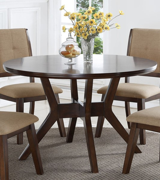 Crown Mark Barney Round Dining Table CRW-2322T-48