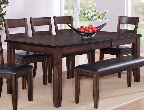 Crown Mark Maldives Dining Table CRW-2360T-4278