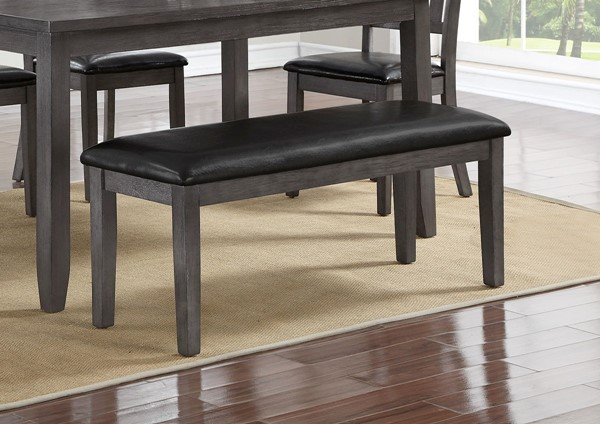Crown Mark Michael Grey Dining Bench CRW-2361-BENCH-GY