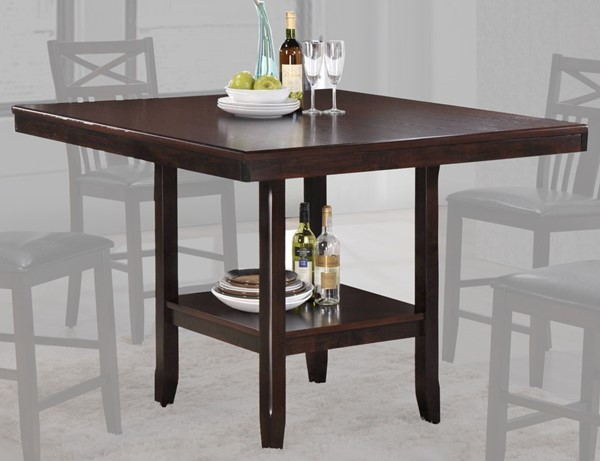 Crown Mark Meghan Brown Counter Height Table CRW-2710T-4848
