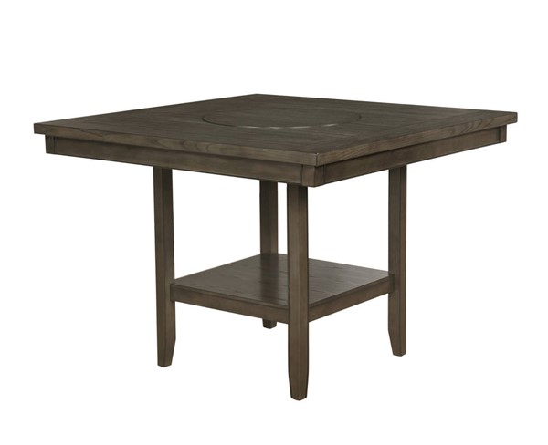 Crown Mark Fulton Grey Counter Height Table CRW-2727GY-T-4848