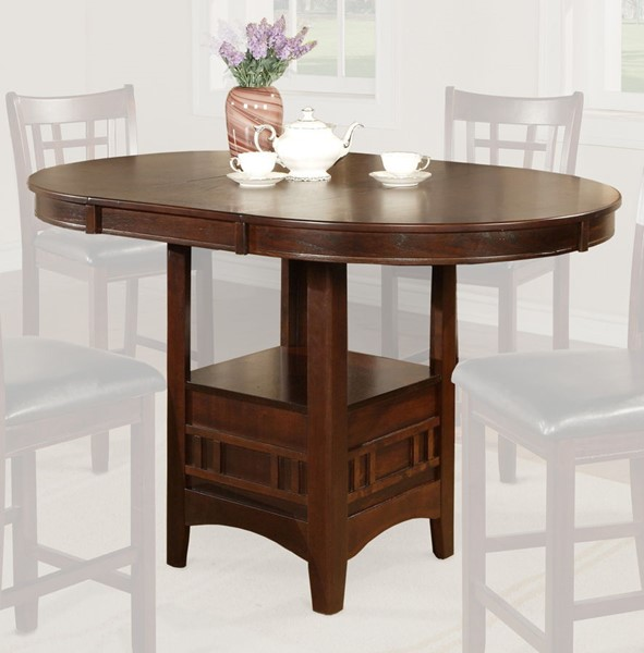 Crown Mark Hartwell Brown Counter Height Table CRW-2795T-4260