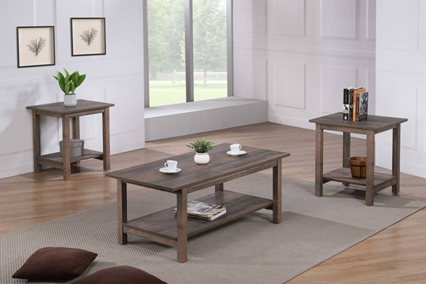Crown Mark Soto 3pc Occasional Table Set CRW-4017SET