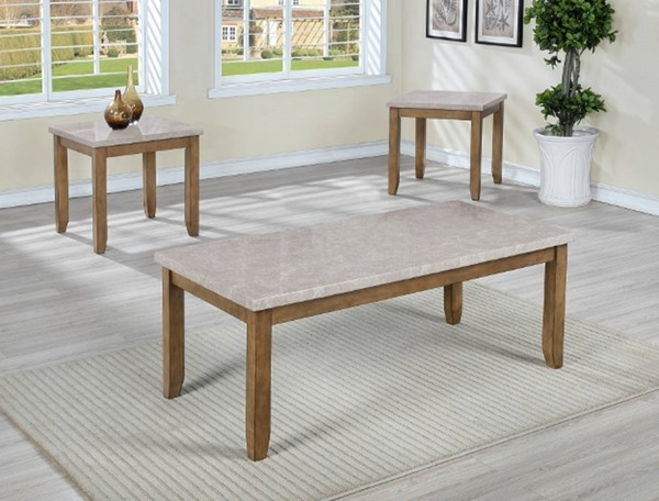 Crown Mark Mike 3pc Occasional Table Set CRW-Z-4222SET