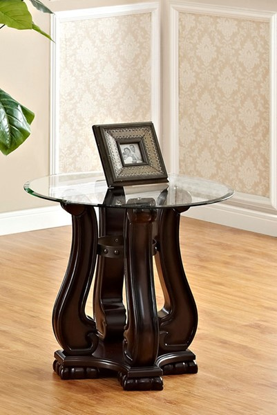Crown Mark Madison Cherry Wood End Table CRW-4320-02