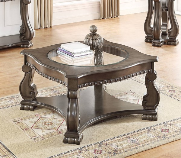 Crown Mark Madison Mistic Grey Coffee Table CRW-4320GY-04