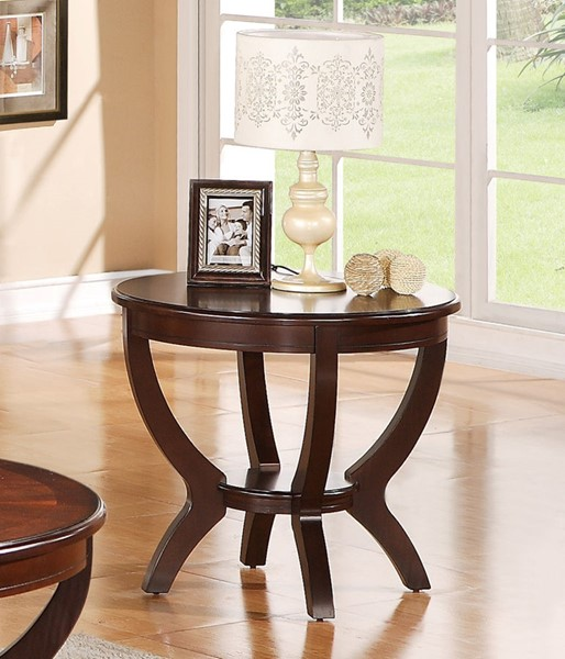 Crown Mark Brownstown Espresso End Table CRW-4517-02