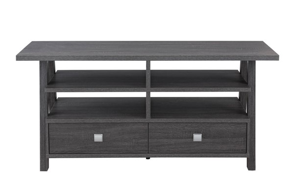 Crown Mark Jarvis Grey Assembled Drawers TV Stands CRW-4808-TV-VAR
