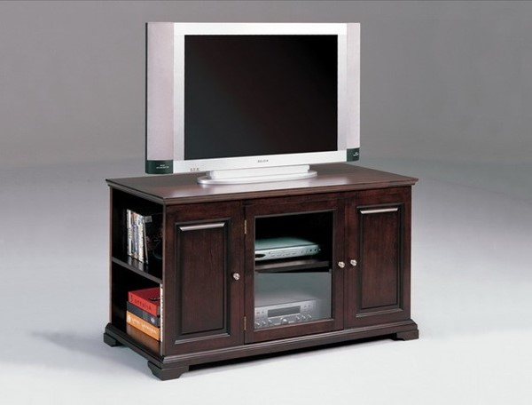 Crown Mark Harris Espresso Wood Entertainment Storage Console CRW-Z-4813-ESP