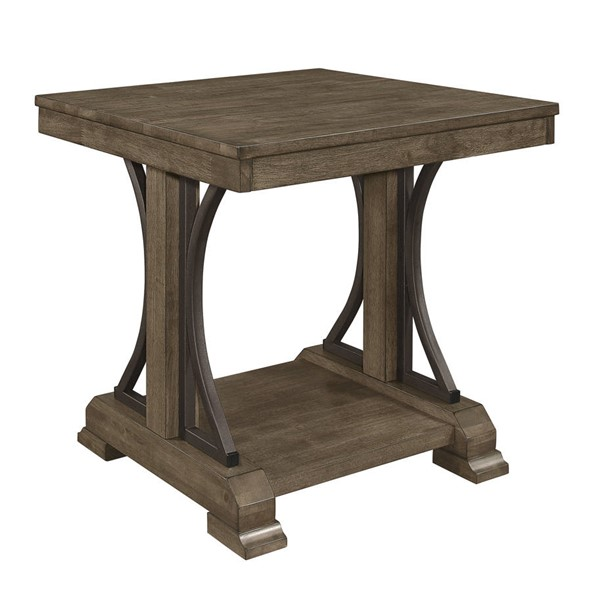 Crown Mark Quincy Brown End Table CRW-4831-02