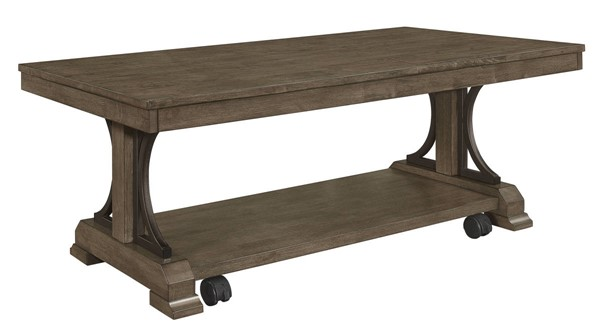 Crown Mark Quincy Brown Coffee Table CRW-4831-01