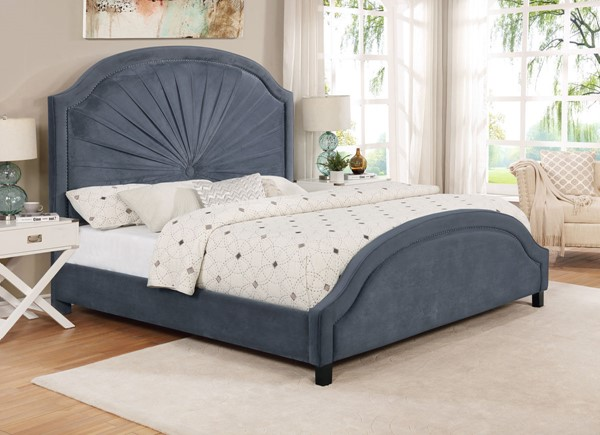 Crown Mark Annette Beds CRW-5018GY-BED-VAR
