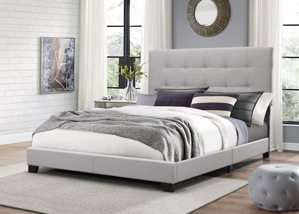Crown Mark Florence Grey Full Bed CRW-5270GY-F