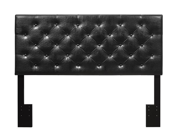Crown Mark Mackenzie Black Full Queen Headboard CRW-5288BK-FQ-HB