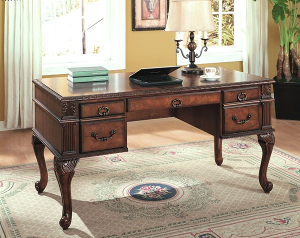 Crown Mark Neo Renaissance Home Office Desk CRW-5400