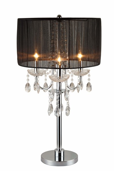 2 Crown Mark Chandelier Table Touch Lamps CRW-6121T