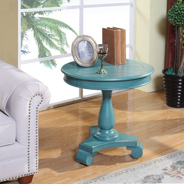 Crown Mark Constance Round End Table CRW-7167-ET-VAR