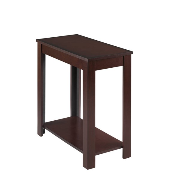 Crown Mark Pierce Brown Chairside Tables CRW-7710-ET-VAR