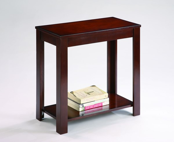 Crown Mark Pierce Brown Chairside Table CRW-7710