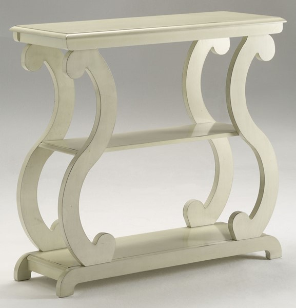 Crown Mark Lucy Ivory Console Table CRW-7915-IV