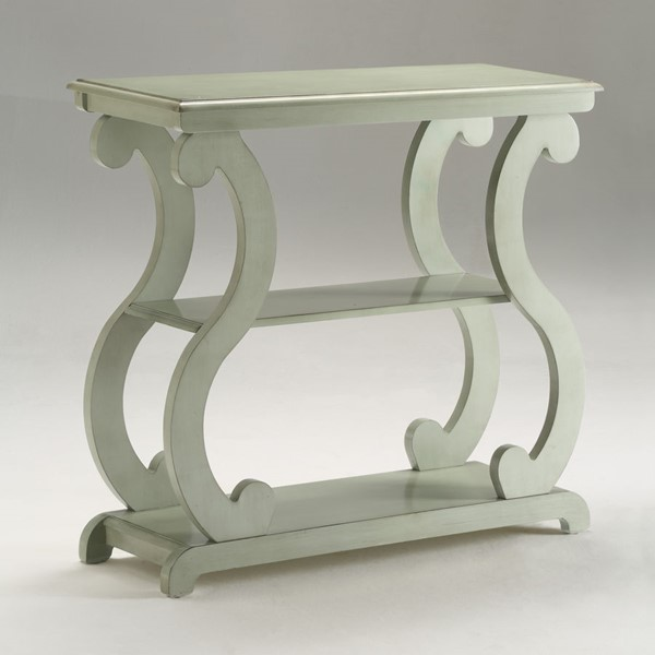Crown Mark Lucy Sage Console Table CRW-7915-SG