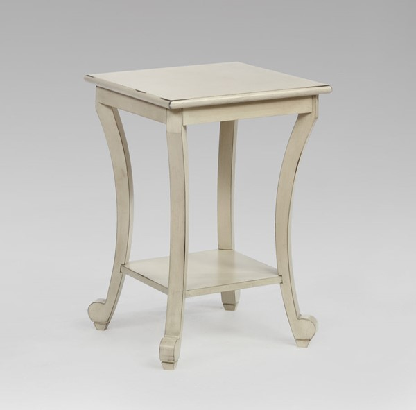 Crown Mark Claire Ivory Chairside Table CRW-Z-7918-IV
