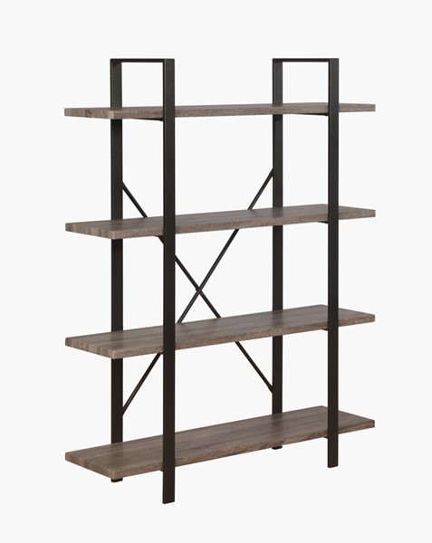 Crown Mark Durango 4 Shelf Etagere Bookcases CRW-7977